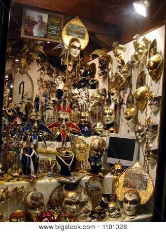 Venice Artistic Joker Masks