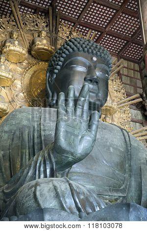 The Great Buddha in Todai-Ji Temple