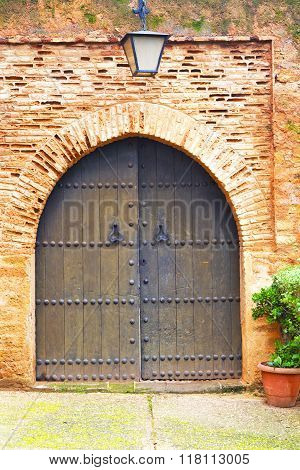Historical In   Door Morocco   Wood And Metal Rusty