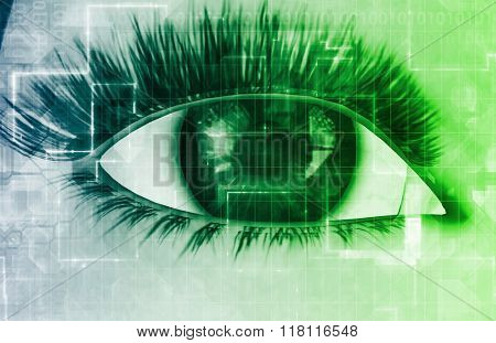 Retinal Scan Technology for Secure Biometric System