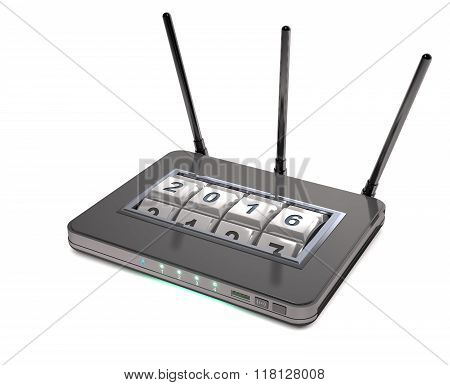 Abstract Router With Secure Access.