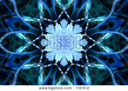 Stock Image Of Winter Kaleidoscope