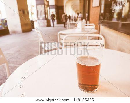 British Ale Beer Pint Vintage