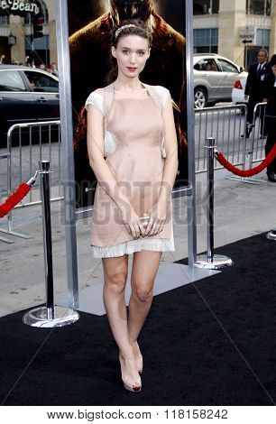 Rooney Mara at the Los Angeles Premiere of