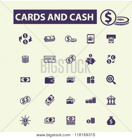 cards icons, cash icons, money icons, credit card logo, payment, atm icons, dollar logo, bank icons, banking icons