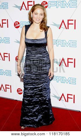 Erika Christensen at the 37th Annual AFI LIfetime Achievement Awards held at the Sony Pictures Studios, California, United States on June 11, 2009.