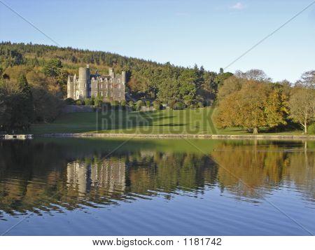 Irish Castle And Lake