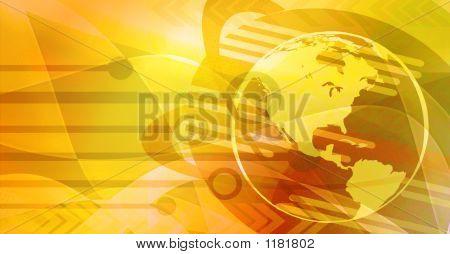Global Technologyconcept