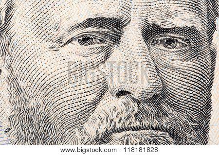 Ulysses Grant a close-up portrait