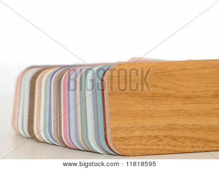 Swatch Of Plastic Formica Counter Top Samples