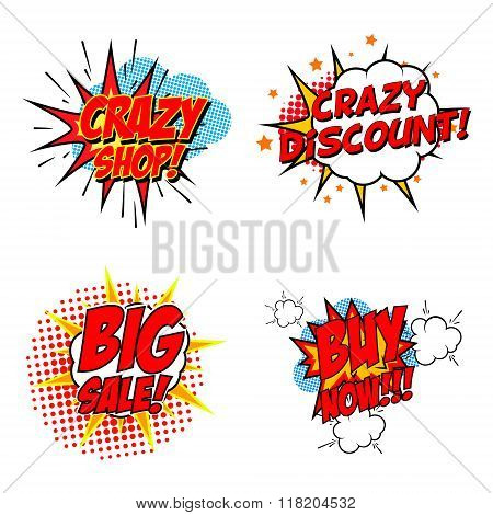 Crazy Discount! Set Of The Vector Design Elements
