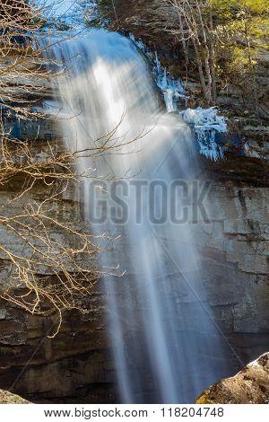 Laurel Falls Near Dayton Tennessee