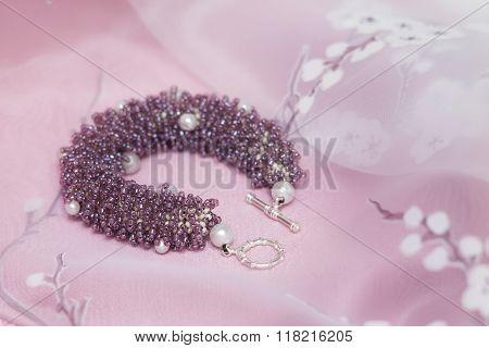 Handmade Bracelet Made In Fur-technique