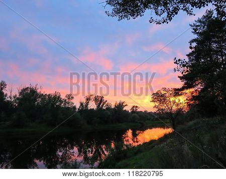 Beautiful nature of Russia