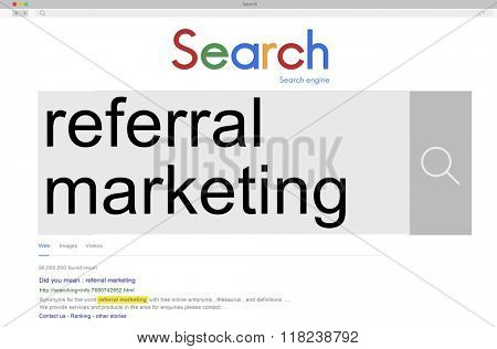 Referral Marketing Consumer Identity Recommend Concept