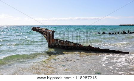 Shipwreck: Remains on the Beach