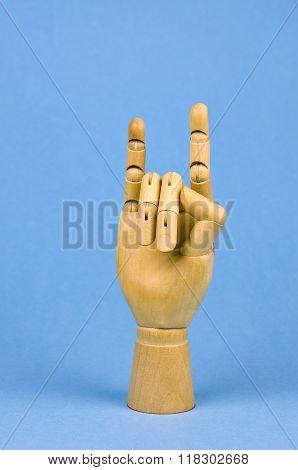 Artist Manikin Wooden Hand