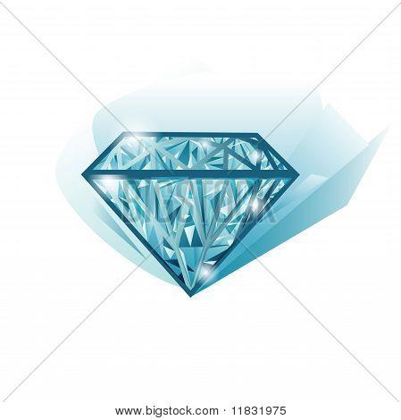 Isolated Vector Diamond