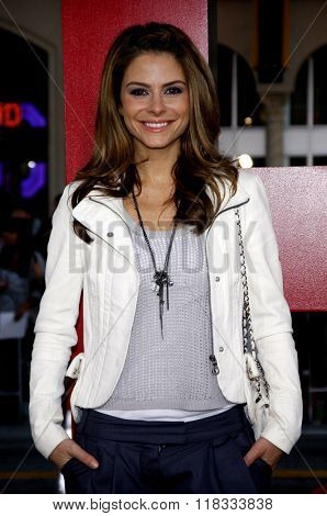 Maria Menounos at the Los Angeles premiere of 'The Hangover Part II' held at the Grauman's Chinese Theatre in Hollywood, USA on May 19, 2011.
