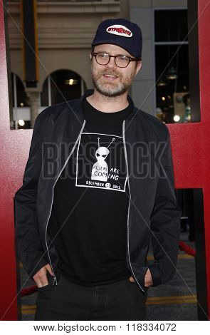 Rainn Wilson at the Los Angeles premiere of 'The Hangover Part II' held at the Grauman's Chinese Theatre in Hollywood, USA on May 19, 2011.