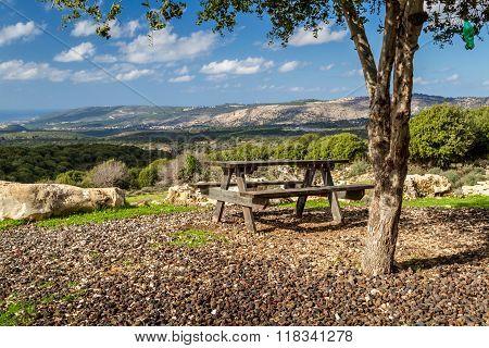 Mountain Landscape Of Upper Galilee,israel