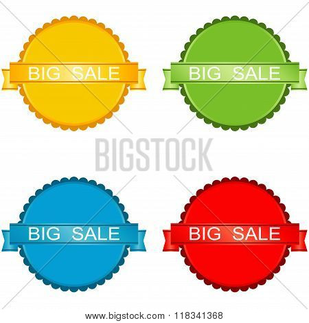 Sale Icons. Big Sale.
