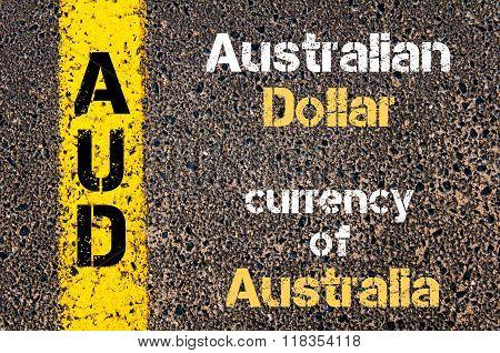 Acronym Aud - Australian Dollar, Currency Of Australia