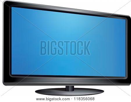 Vector - Flat Screen Tv
