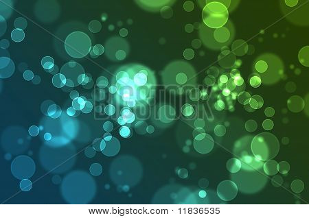 Defocused abstract of colorful bokeh background, illustration poster