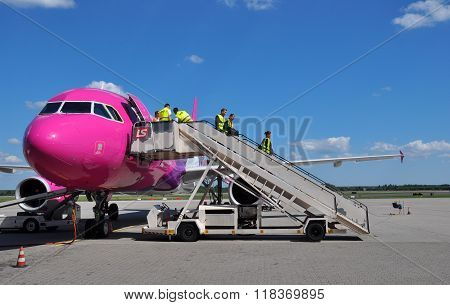 Cabin Crew Of Wizzair