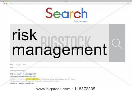 Risk Management Opportunity Planning Unsure Concept