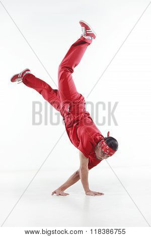 Dancer in red