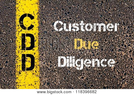Business Acronym Cdd Customer Due Diligence