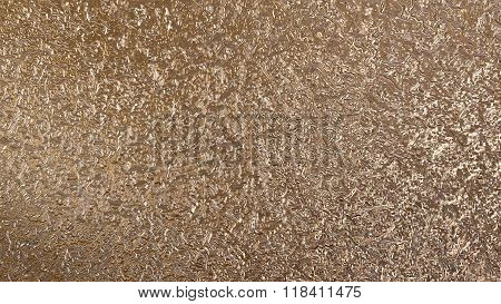 Golden Metal Liquid Pattern