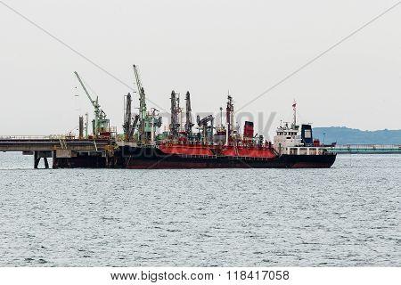 LPG (liquid petroleum gas) tanker at Black sea