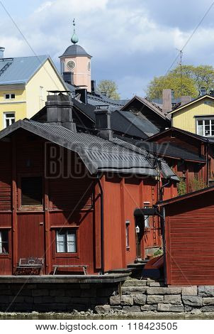 View Of The Ancient City Porvoo, Finland