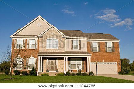 Stone and Brick House