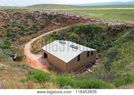 Archeological Buffalo Jump Site