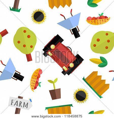 Seamless Farm Pattern