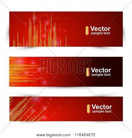 Vector Music Banners