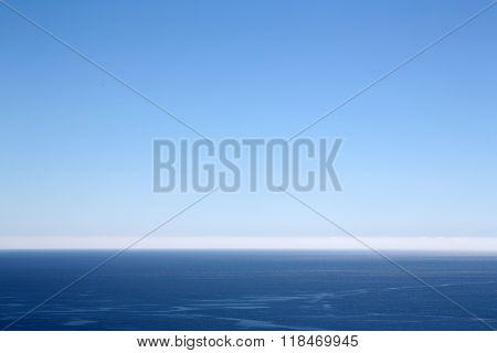 Beautiful Blue Sea Horizon