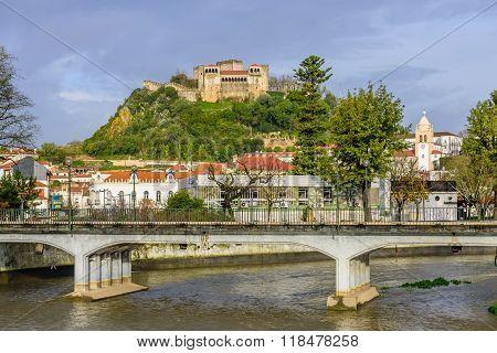 the old castle of Leiria