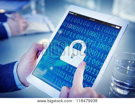 Security Data Protection Information Lock Save Private Concept