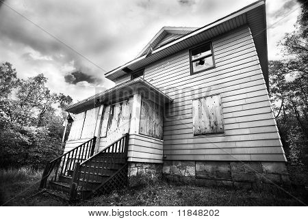 Broken Down Abandoned House