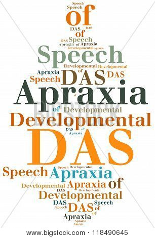 Das - Developmental Apraxia Of Speech. Disease Concept.
