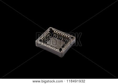PLCC32 Surface Mount IC Socket Isolated