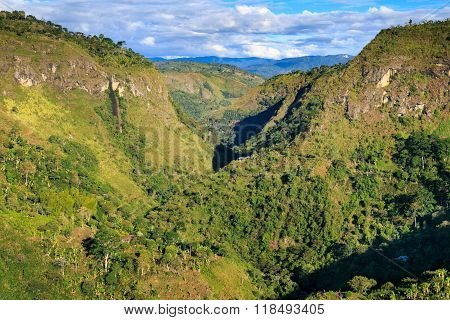 green mountains landscape, green mountains in colombia