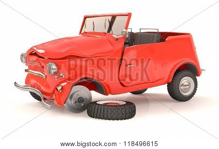 The Broken 3D Car