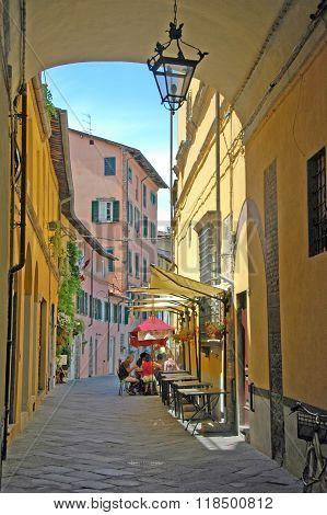 Italian village life