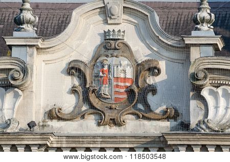 Coat Of Arms Of The City Of Gyor